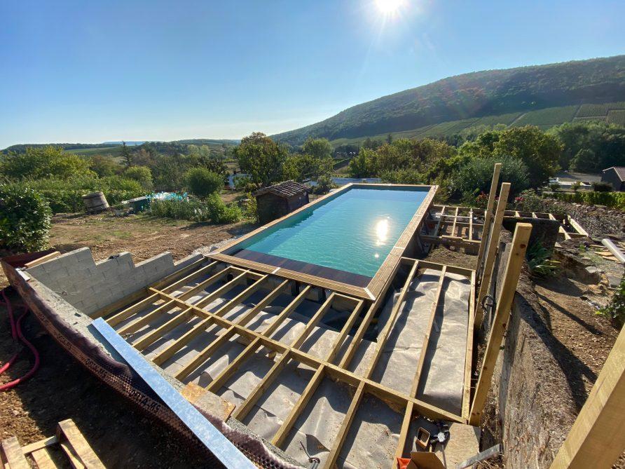 Een nieuw zwembad